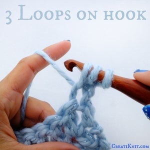You Will Now Have 3 Loops on Your Hook.