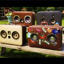 The budget suitcase boombox