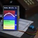 Arduino 24 Hour Temperature Humidity Display