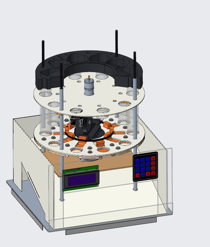Picture of DC Axis and Coin Selector Layer
