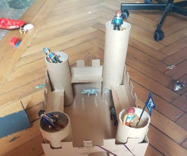 Quick-n-Easy Cardboard Castle for Kids