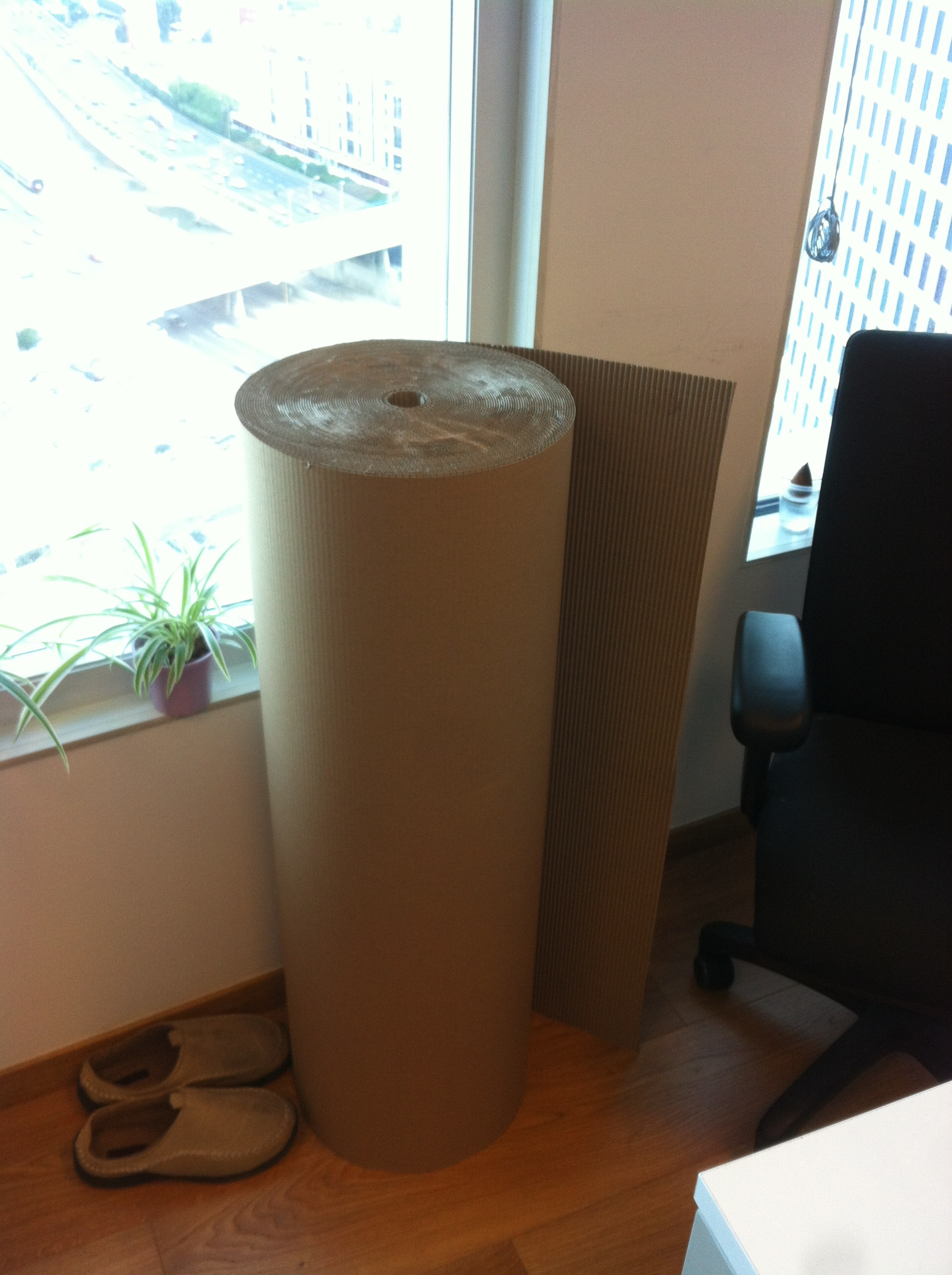 Picture of Strengthening It Via an Additional Cardboard