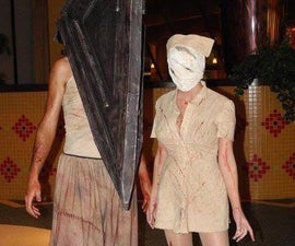 Silent Hill Nurse Costume 2011