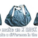 Make an X-back work apron