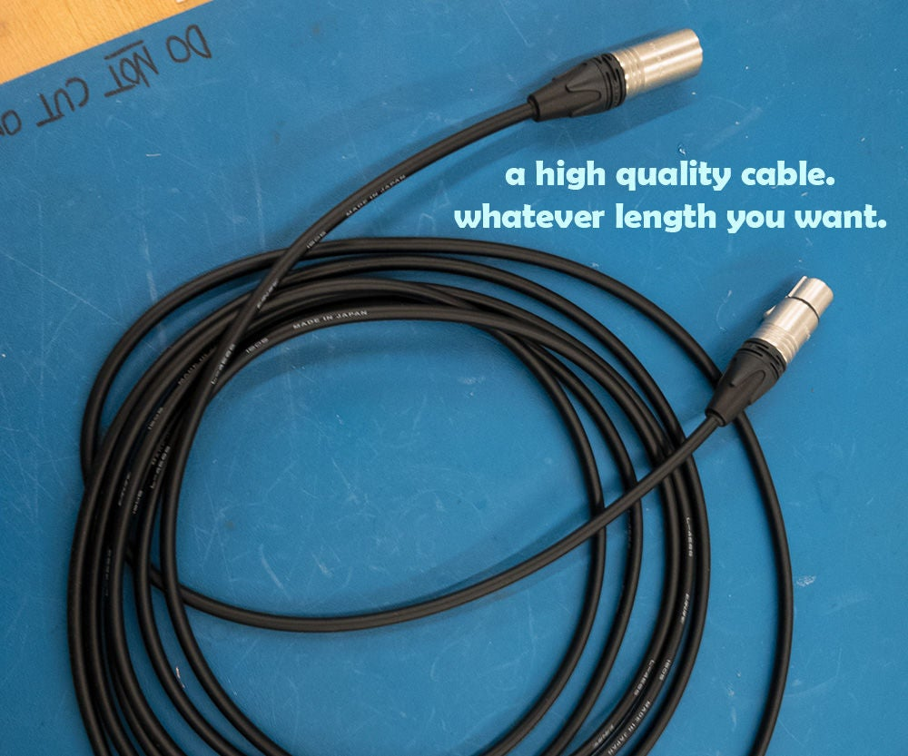 How To Make An Xlr Microphone Cable 10 Steps With Pictures Wiring Diagram Together 4 Marine Speakers Also Electrical Wire