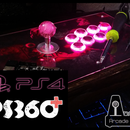 Play on PS4 with your PS360+ Arcade Stick/Fight Stick mod