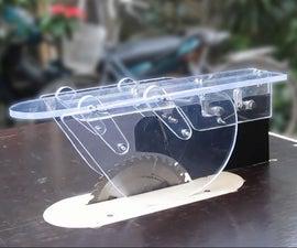 如何制作桌子锯 -  DIY台锯的防反冲 - 防护,分离器,棘爪