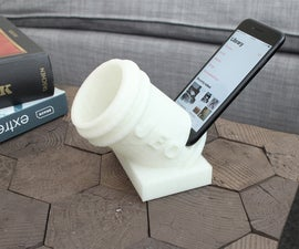 3D Printed Smart Phone Amp