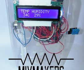WEATHER BOX USING ARDUINO ~THE EASIEST