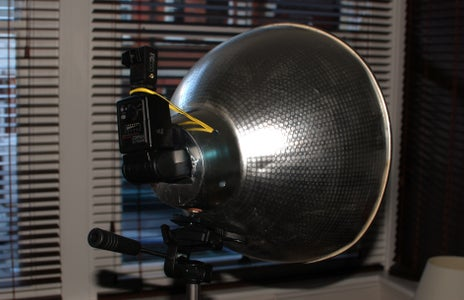 Insert Flash and Mount on to Tripod