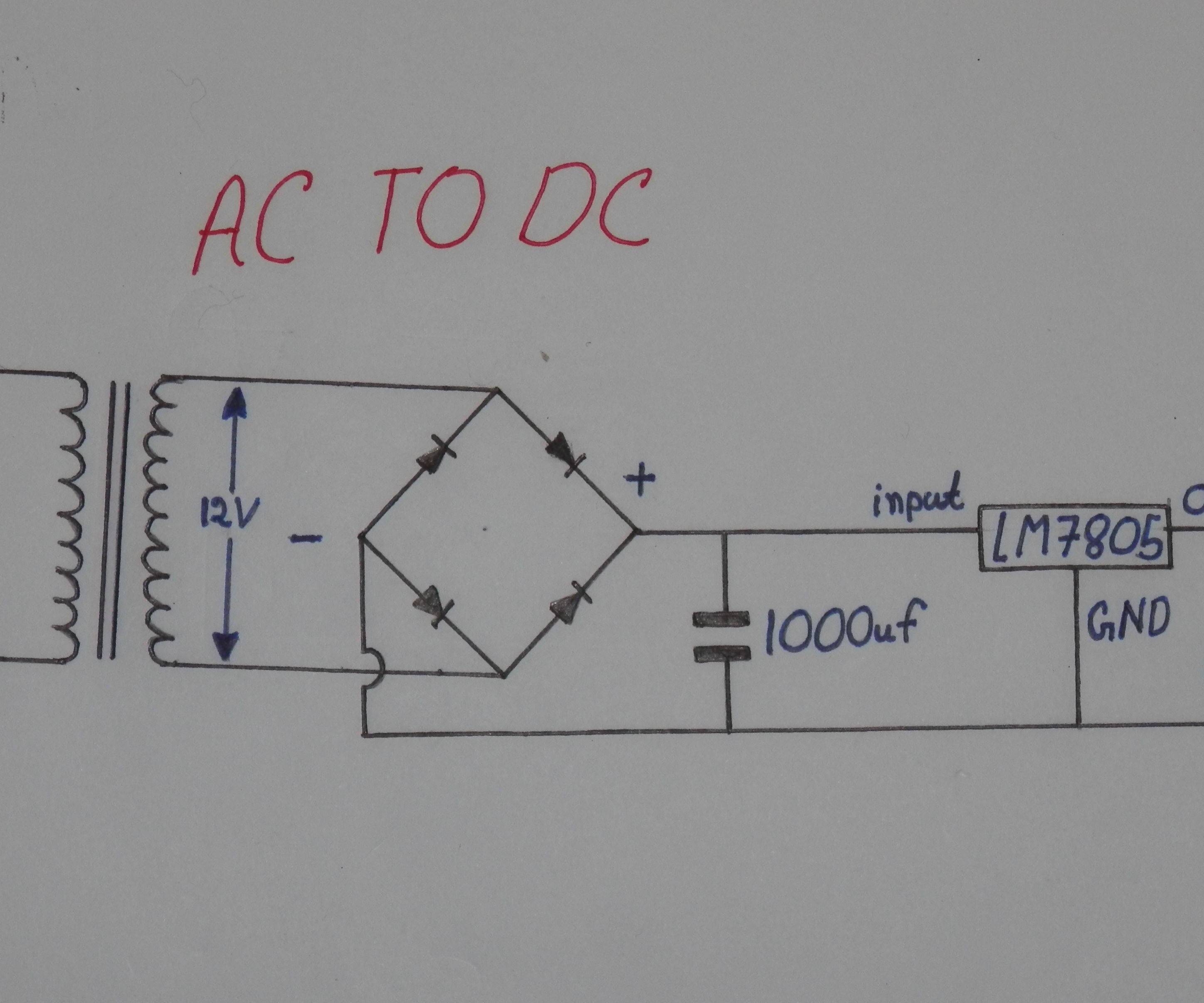[SODI_2457]   How to Convert 220v AC to 5v Stable DC : 5 Steps - Instructables | Ac 220v Schematic Wiring |  | Instructables