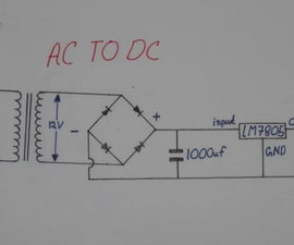 How to Convert 220v AC to 5v Stable DC