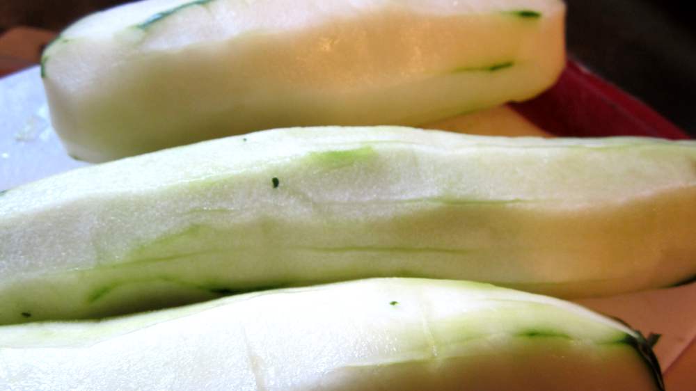 Picture of Peel + Slice the Cucumbers!