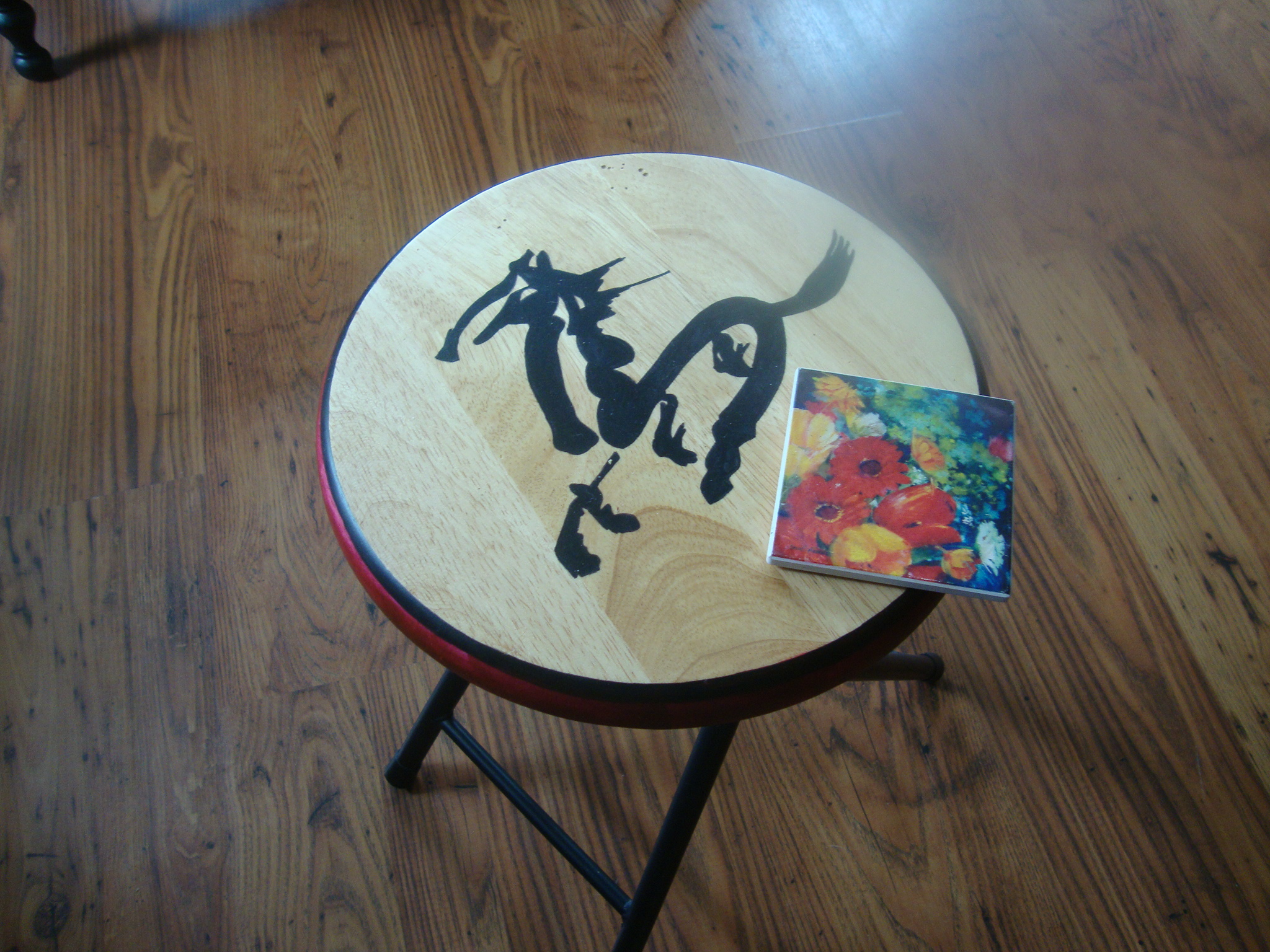 Picture of New Life for a Small Stool.