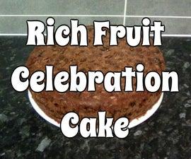 Rich Fruit Celebration Cake