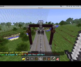 Another Minecraft Survival Games. How to Win.