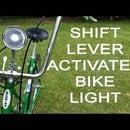 Shift Lever Activated Retro Bike Light