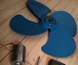 5 Minutes Simple Wind Turbine for Everybody