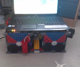 Knex Laptop stand - With cooling fan