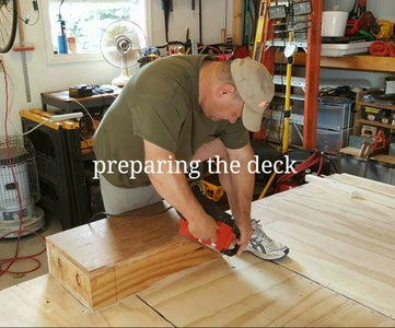 Preparing the Deck and Interior for Wall Installation