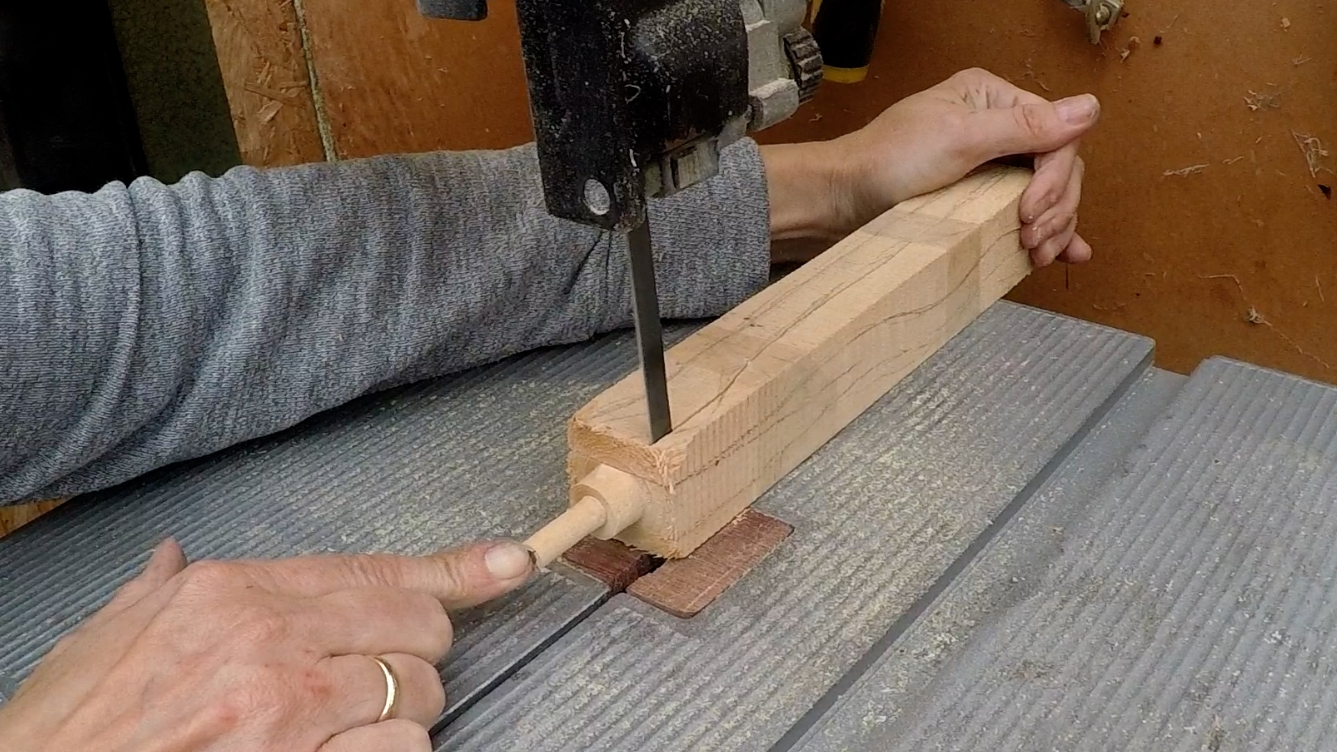 Picture of Making the Wand