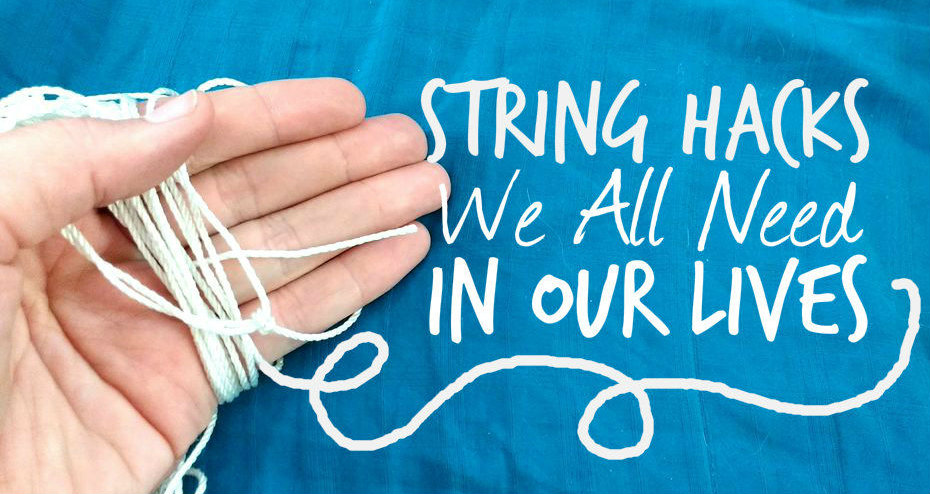 Picture of 19 Unexpected Life Hacks Using String