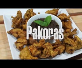 Vegetable Pakoras (video recipe)