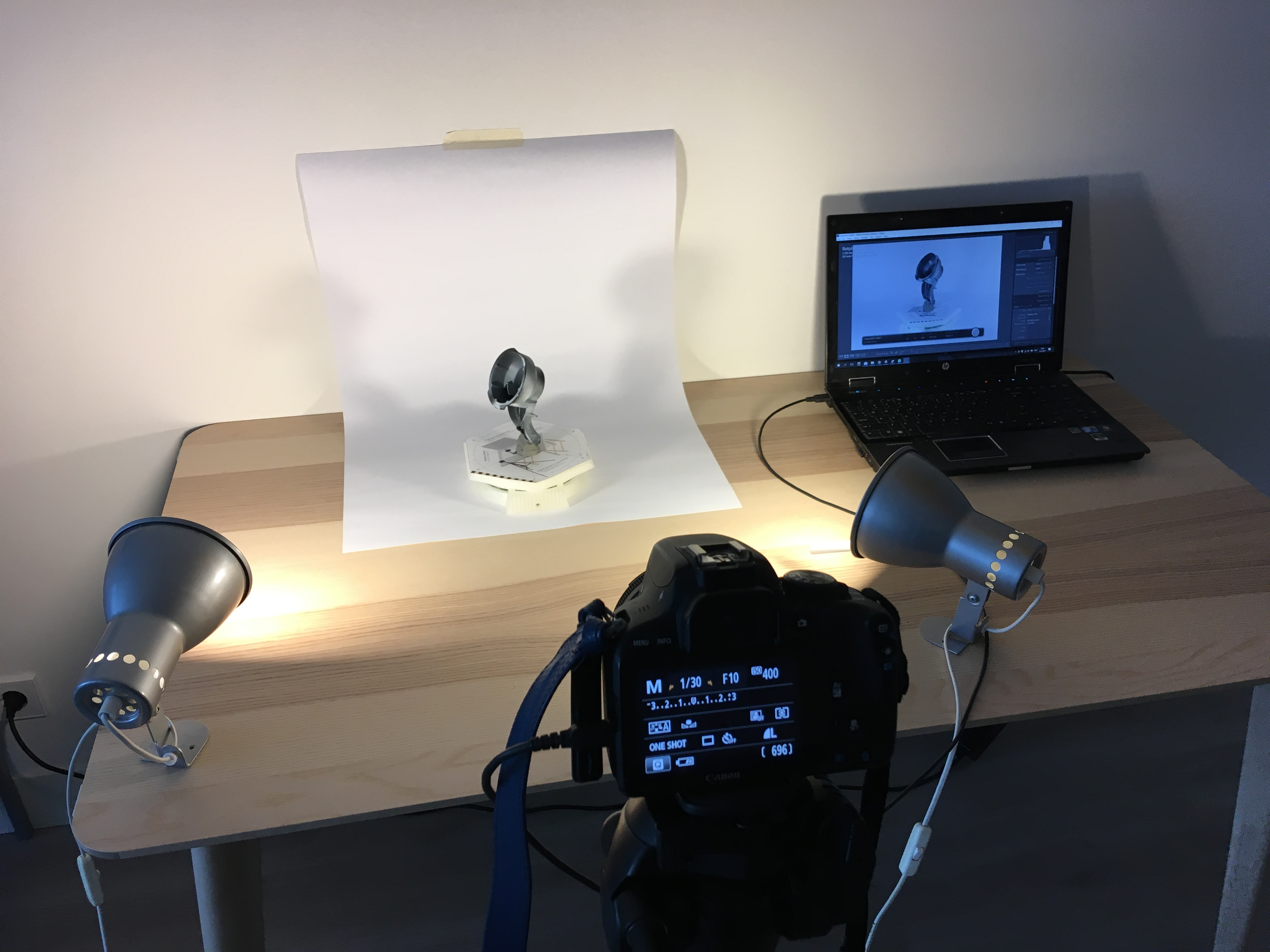 Picture of Setup a Scanning Scene