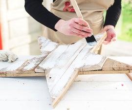 White Washing Tutorial | Furniture Painting