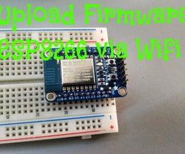 Upload firmware ESP8266 via WiFi