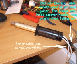 INSANELY HOT DIY Hot Air Soldering iron @ 15 Volts DC and 3.5 amps...PART II