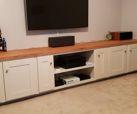 Built in Cabinets - Middle