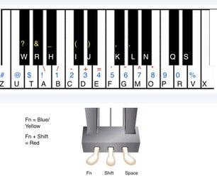 Piano Training USB Keyboard