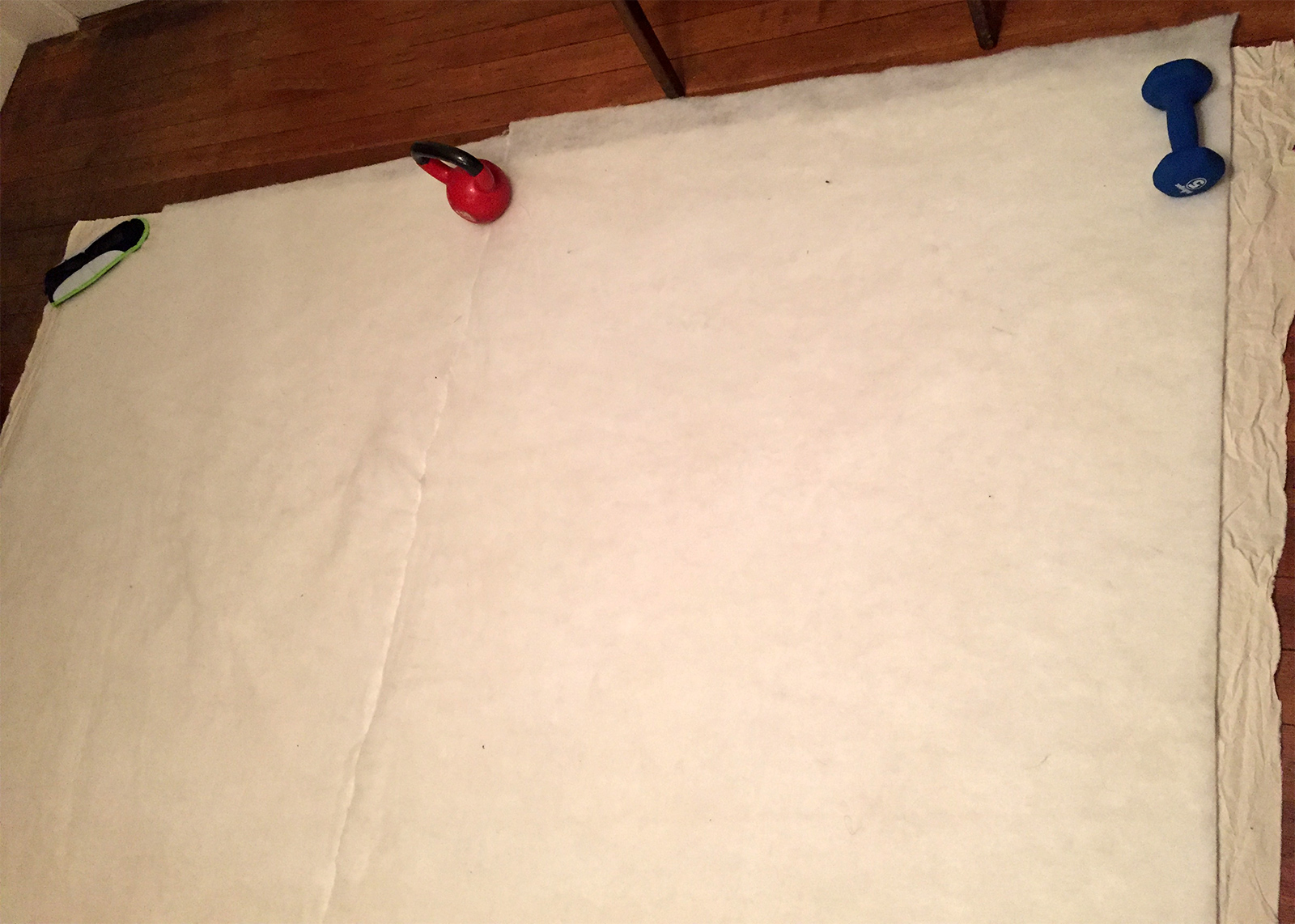 Picture of Pin Layers Together & Mark Seams