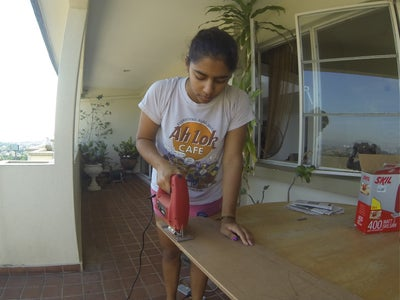 Sawing the Boards Out