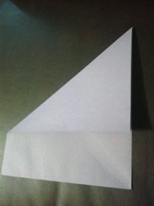 Fold the Paper Into a Triangle