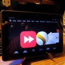 Tablet Stand from Plate Stand