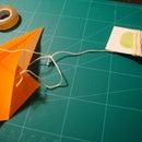 Devil's Kite (Super Easy Paper Kite That Really Flies!)