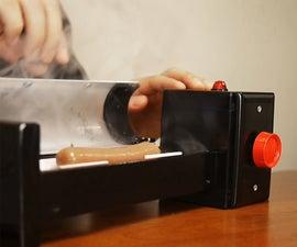 A Safer Electric Hot Dog Cooker