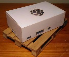 Raspberry Pi 2 Card Case (Laser cut)