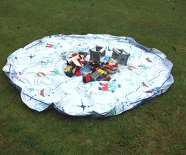 Toy Bag and Play Mat in One
