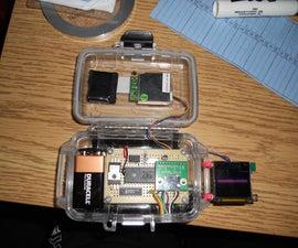 GPS HUD for Snowmobile/Motorcycle Helmet