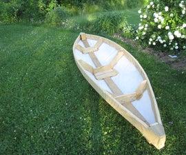 Free skin on frame canoe