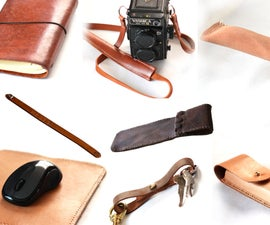 8 Easy DIY Leather Christmas Gifts