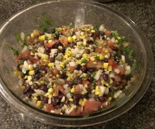 Texas Caviar - the Most Simple, Delicious, and Healthy Dip/Side Ever