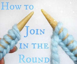 Learn how to join in the round with circular knitting!