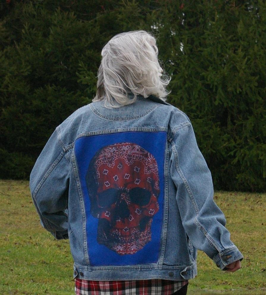 Picture of Denim Jacket Framed T-Shirt (JuxTeePosed Jacket)