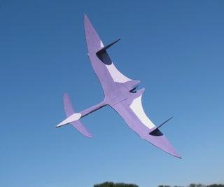 Card Stock Pterosaur Flying Model