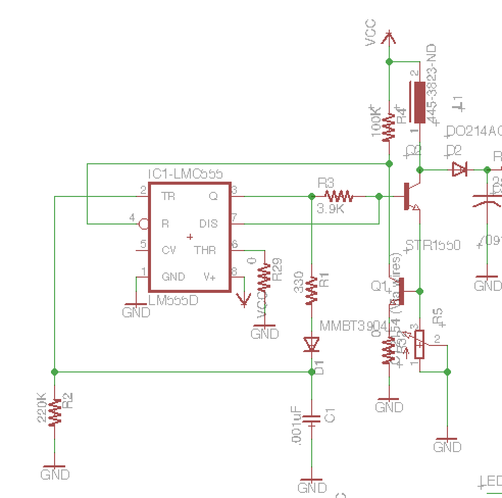 Picture of Understanding the Geiger Tube Circuit and Building a High Voltage Supply