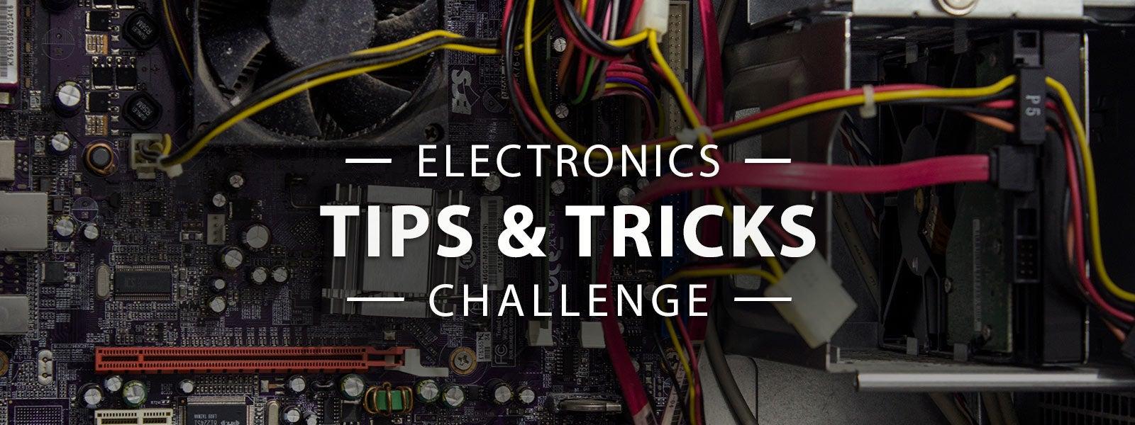电子提示和技巧的挑战